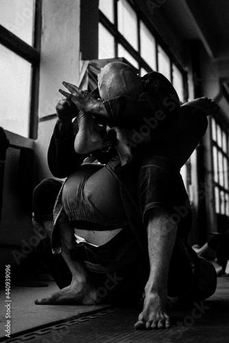 Fotografia Brazylijskie jiu jitsu - walka