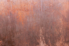 Steel Plate Plates Rusted, Scratched And Dirty When Used On Construction Site As Background With Different Designs