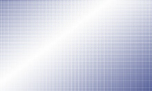 Halftone Background With Cobalt Color