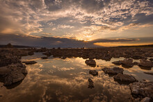 Sunrise On Mono Lake