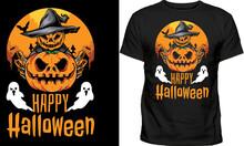 Halloween T-Shirt Halloween Vampire Costume T-Shirt Funny Halloween Party T-Shirt