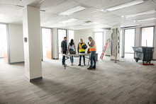 New Tenants Planning Office Remodel