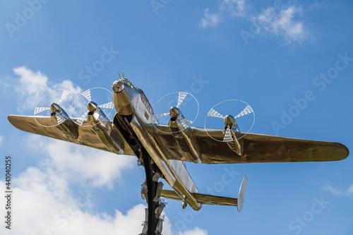 Fotografia Lancaster bomber statue