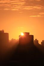 The Sunset Of Sheung Wan, Hong Kong 26 Dec 2020