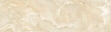 Beige Onyx Marble Texture With Light Background.