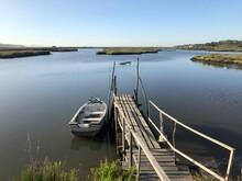 Cais Palafítico Da Carrasqueira Mar Barco Rio