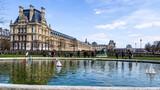 Fototapeta Fototapety Paryż - Ogrody Tuileries w Paryżu, Francja