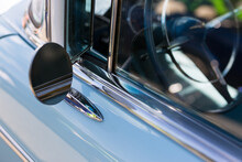 Close-up Of Blue Ford Fairlane