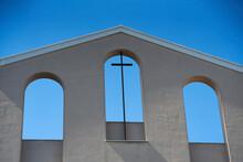 Cross Christian Of A Modern Church