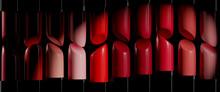 Full Frame Shot Of Lipsticks