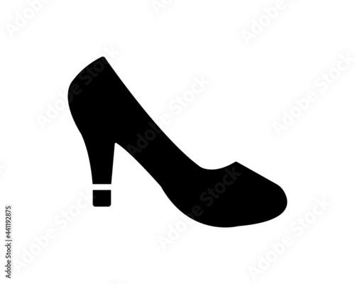 Stampa su Tela High heels icon vector symbol design