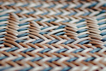 Texture Of Wicker Chair