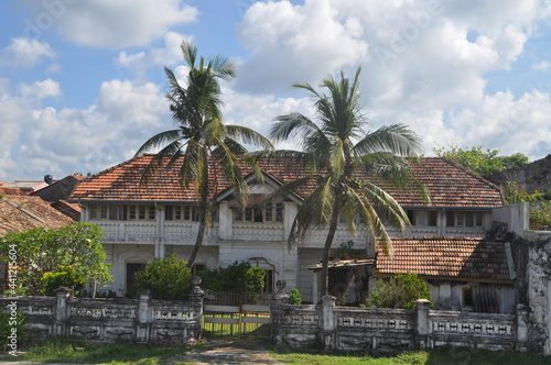 Tela A big colonial land house in Galle, Sri Lanka