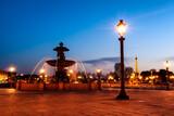 Fototapeta Fototapety Paryż - Paryż nocą, Francja