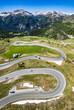 Leinwandbild Motiv landscape at the Grossglockner Mountain in Austria
