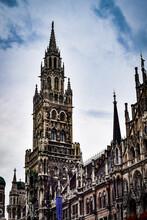 ミュンヘン、市庁舎とその周辺の景観
