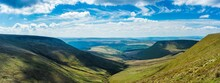 View On Brecon Beacons National Park, Wales, England