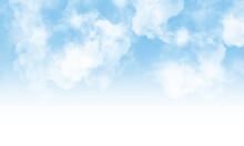 Cloud Background. Blue Cloud Texture. Blue Cloud Texture Background