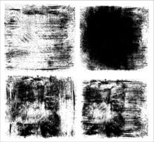 Set Grunge Texture Abstract