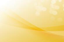 Yellow Bokeh Beautiful Blur Background