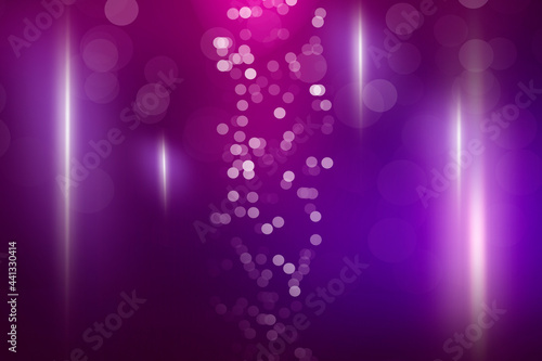 Abstract purple background with soft blur bokeh light effect