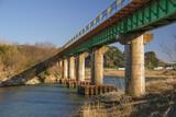 Most z pomiarem wody
