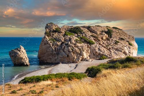 Obraz na plátně Cyprus beaches