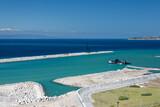 Fototapeta Fototapety z morzem do Twojej sypialni - Port w Tangerze, na środziemnomorskim wybrzeżu Maroka