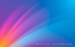 Abstract colorful light gradient background