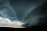 Fototapeta Rainbow - Chmura burzowa, Chmura szelfowa