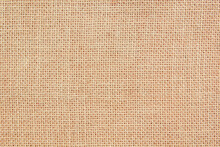 Burlap Texture Background.