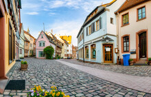 Old Town Of Lohr Am Main, Bavaria, Germany