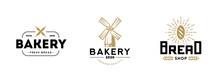 Bakery Logo Set.