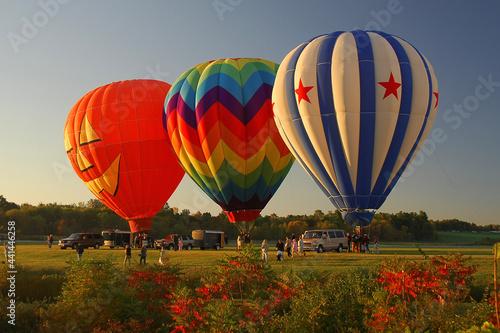 Fotografie, Obraz hot air balloons