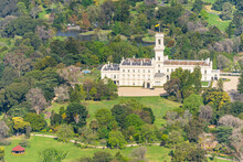 Aerial View Of Government House In Melbourne