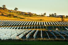 Solar Farm Outside Of Warwick