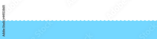 Valokuva Water waves background