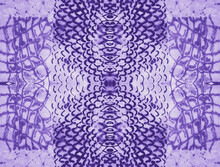 Snake Skin Repeat. Lilac Retro Style Background.