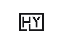 HY Letter Logo Design
