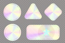 Holographic Sticker For Quality Guaranteed Seal Set