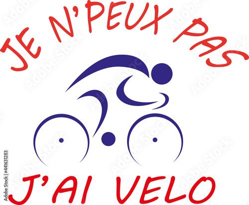 Photo JE N'PEUX PAS J'AI ....