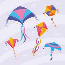Kites Symbol Set