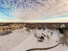 Residental Park Winter