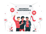 THE SPIRIT OF INDONESIAN NATIONAL INDEPENDENCE DAY