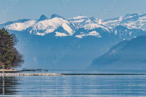 Fotografia lac Léman,lac de Genève, lac,lémanique,léman,europe, suisse,