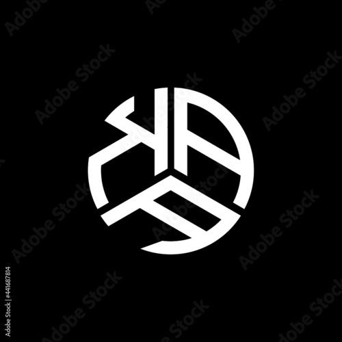 Wallpaper Mural KAA letter logo design on white background