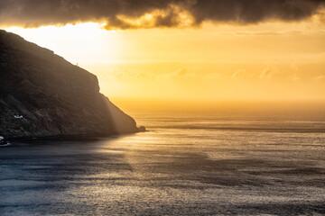 Teneryfa, wschód słońca