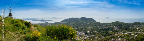 Fotografie, Obraz Ischia, panoramica, golfo di Napoli da Barano