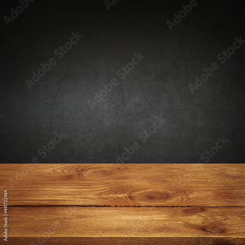 Tela The background is blank wooden boards and a textured plastered wall with lighting and vignetting
