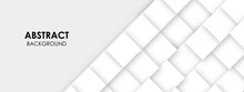 Abstract White Line Geometric Vector Background
